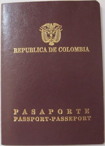 Columbia Passport Book cover